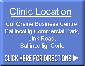 Cork Weight Loss Clinic address is Cul Greine Business Centre, Ballincollig Commercial Park, Link Road, Ballincollig, Cork